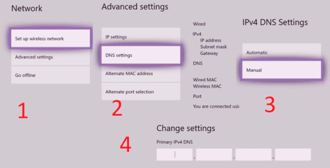 Пошаговое руководство по смене DNS-сервера на Xbox One