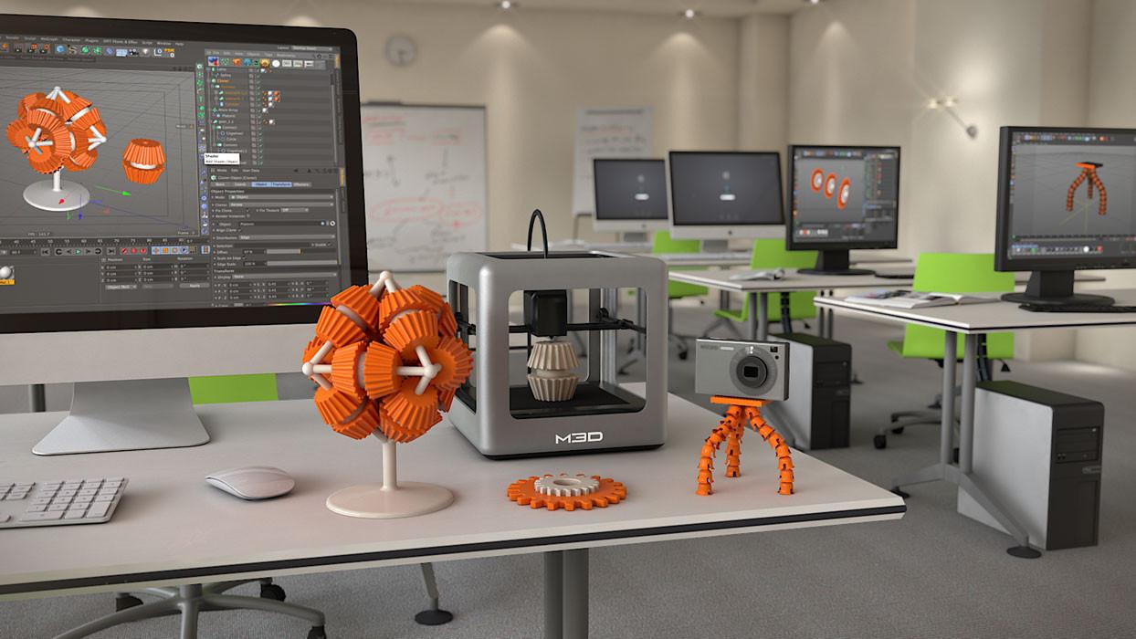 3D-принтер современный