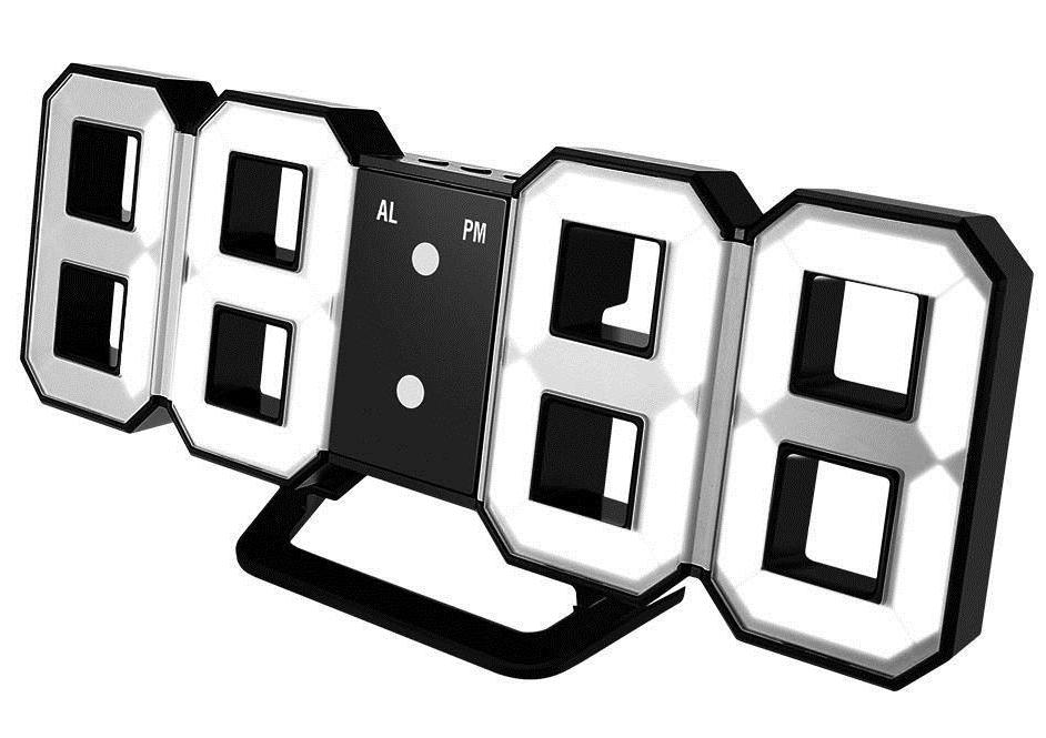 3D LED часы