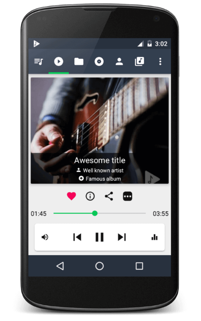 Android Musicolet