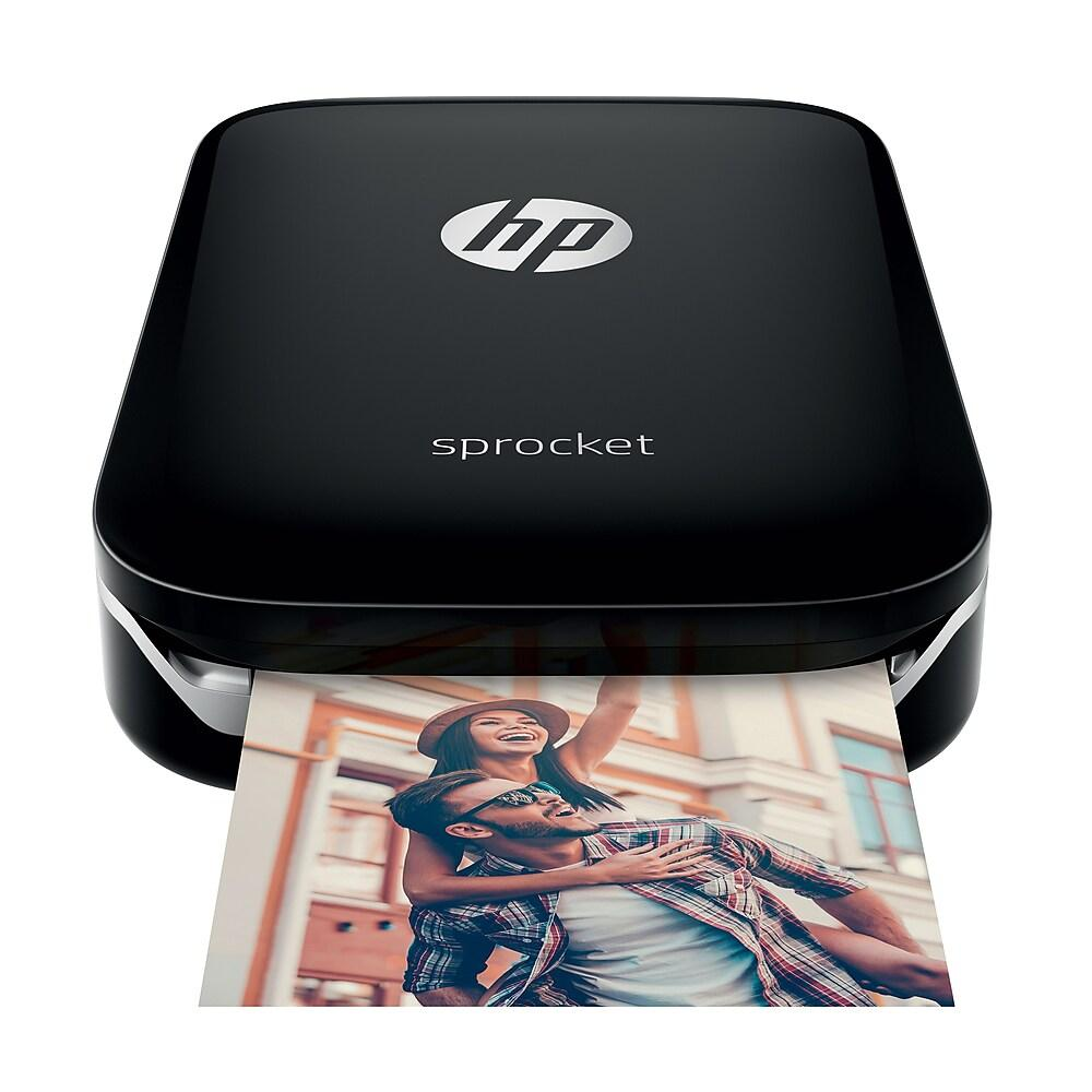 HP Sprocket, Black