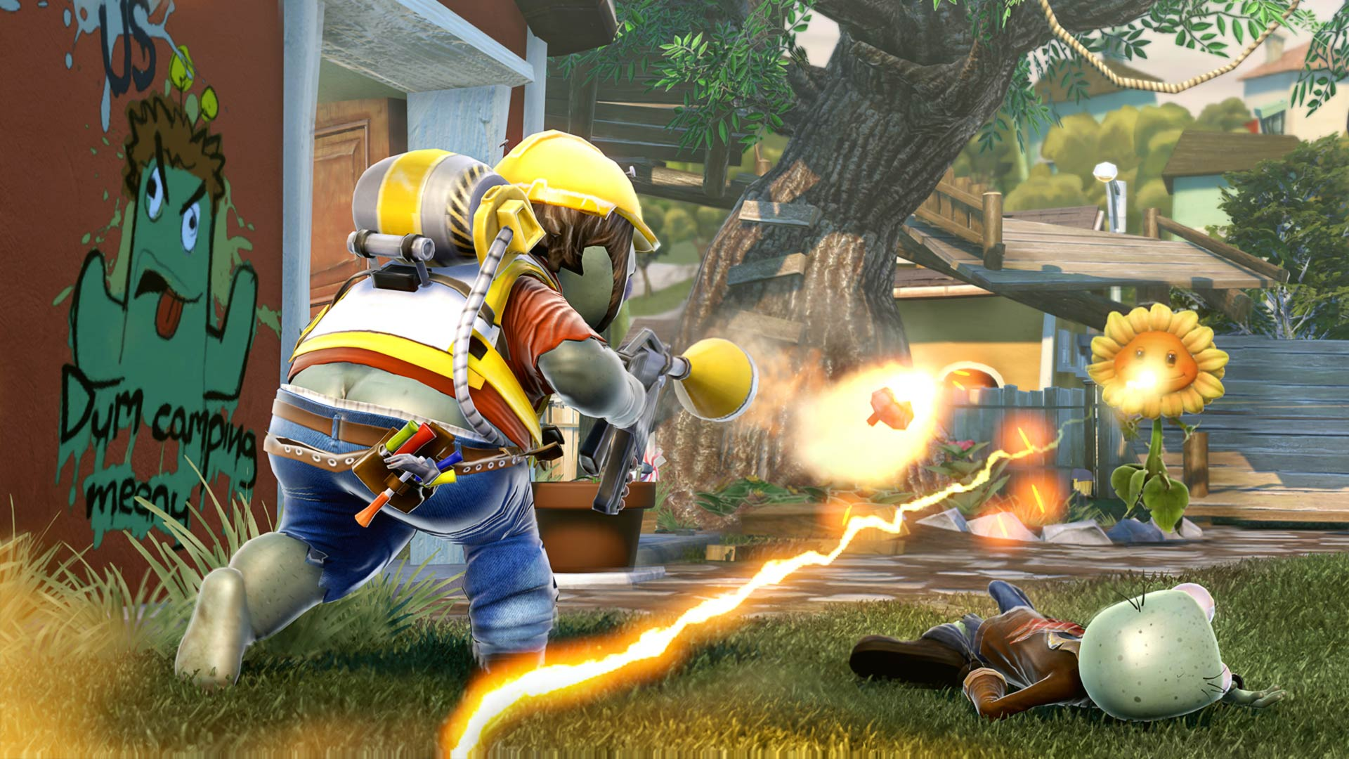 Plant vs Zombie: Garden Warfare