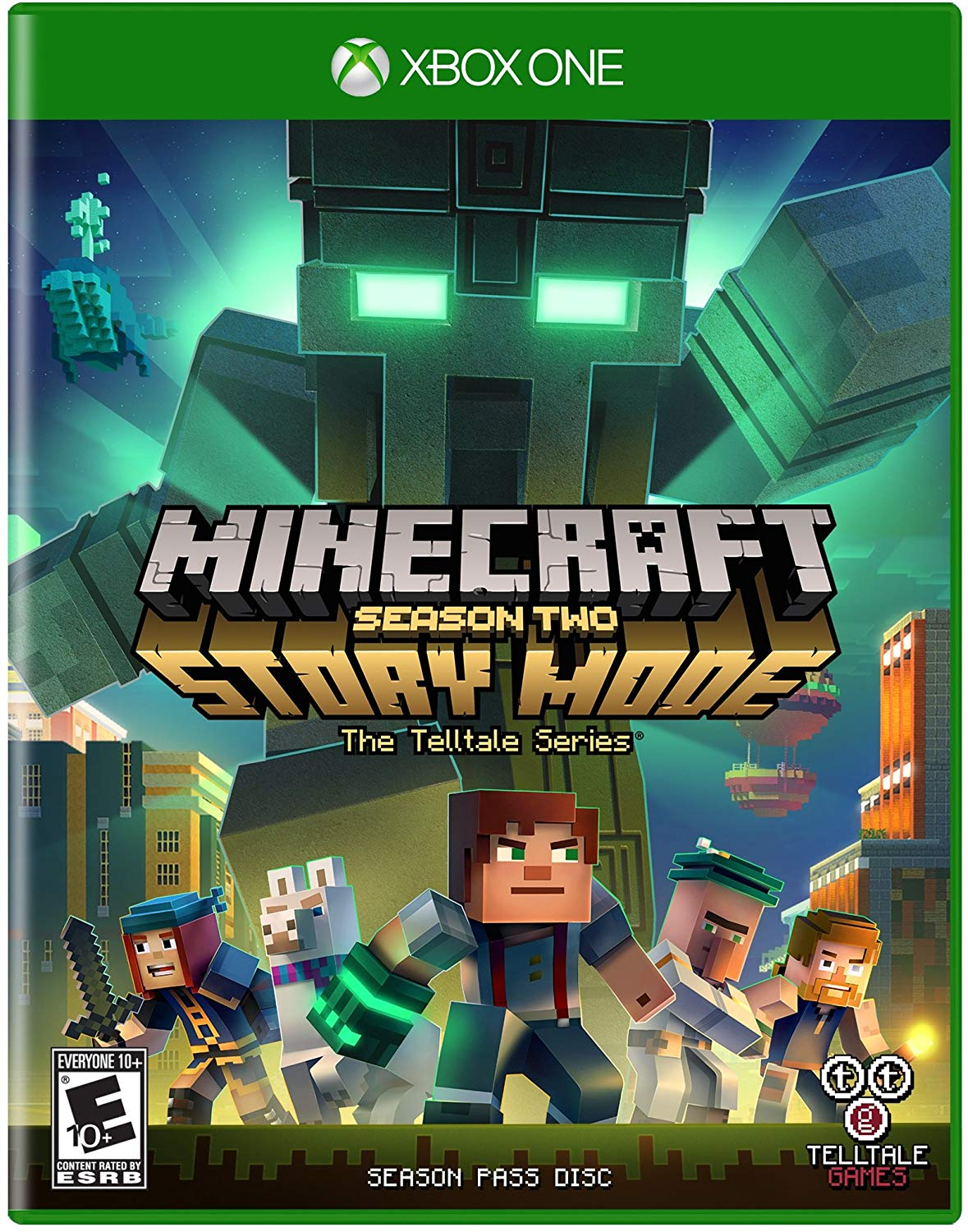 minecraft story mode season 2 xbox one
