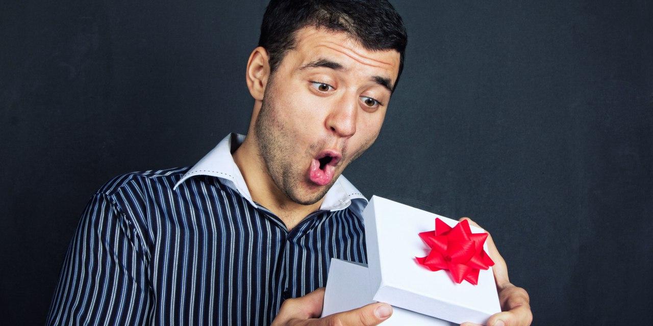 Подарок и мужчина