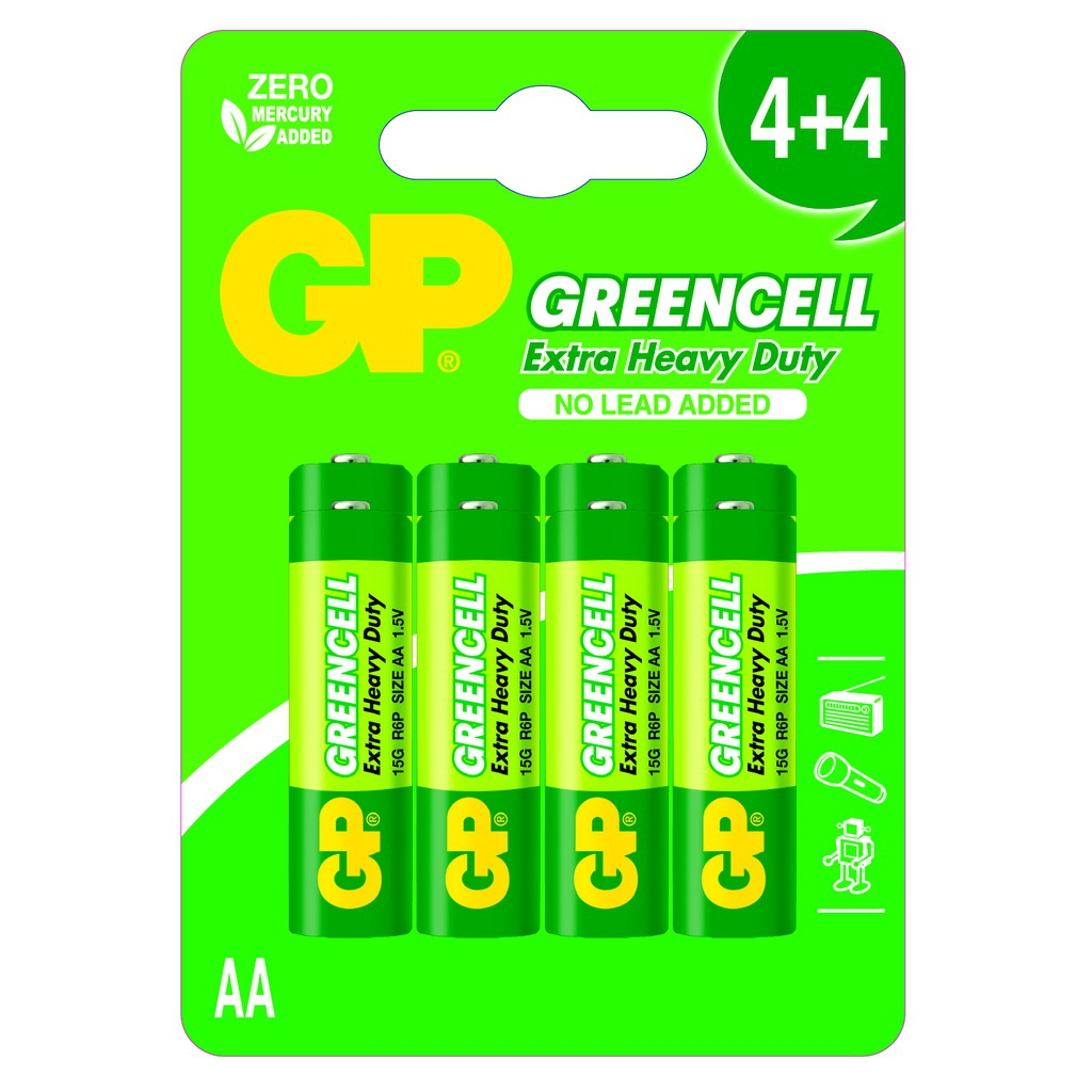GP GreenCell 15G AA
