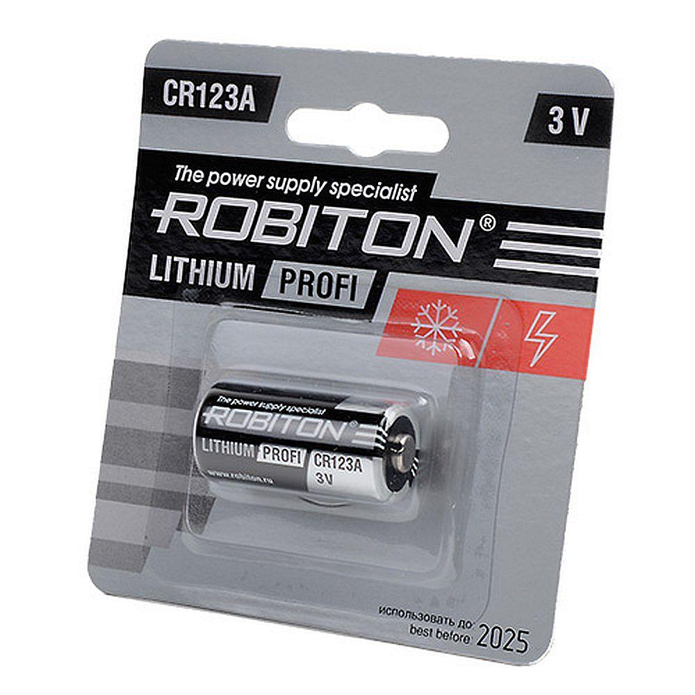 Robiton Profi CR123A