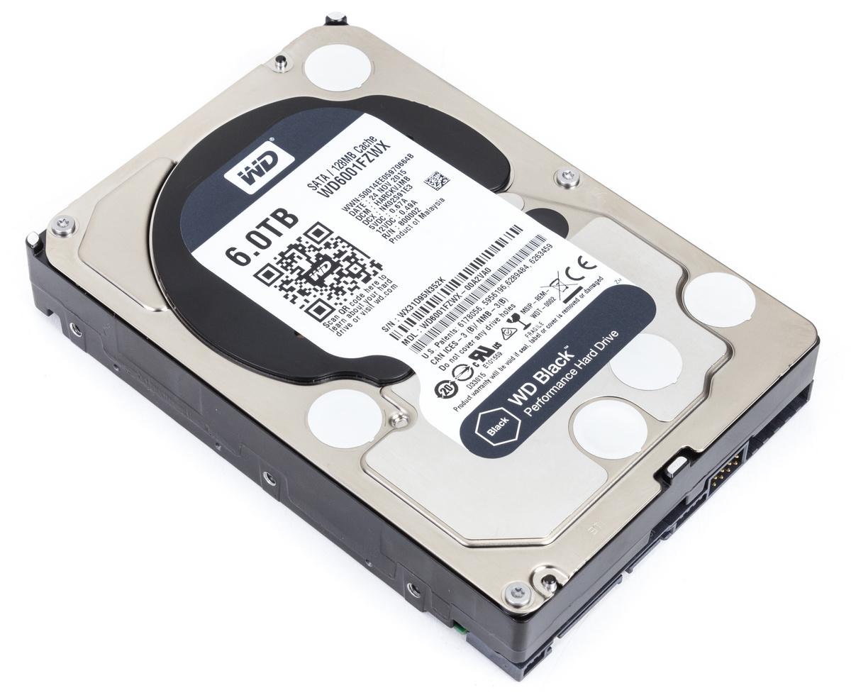 Western Digital WD Black 6 TB