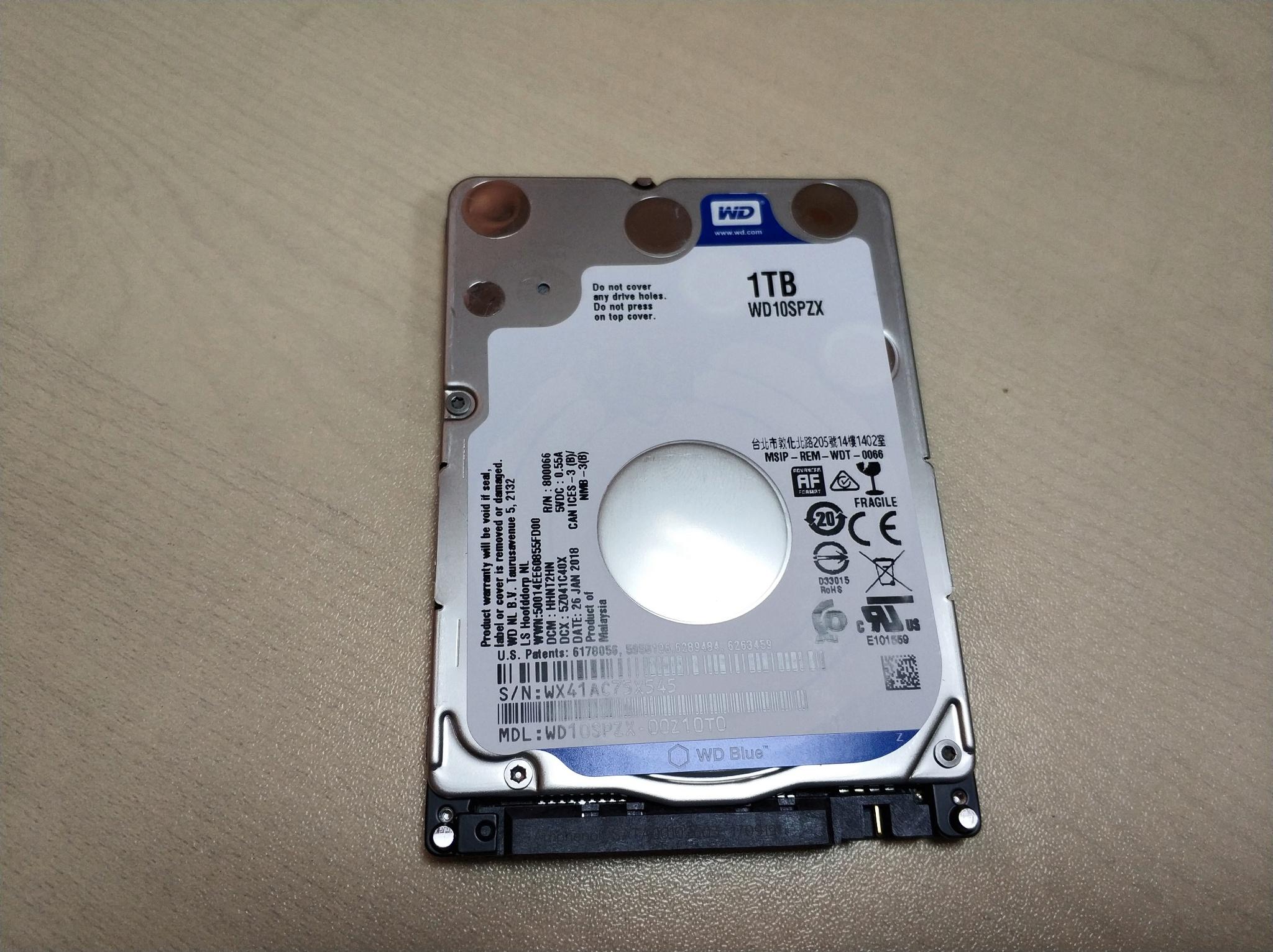 Western Digital WD Blue Mobile 1 TB