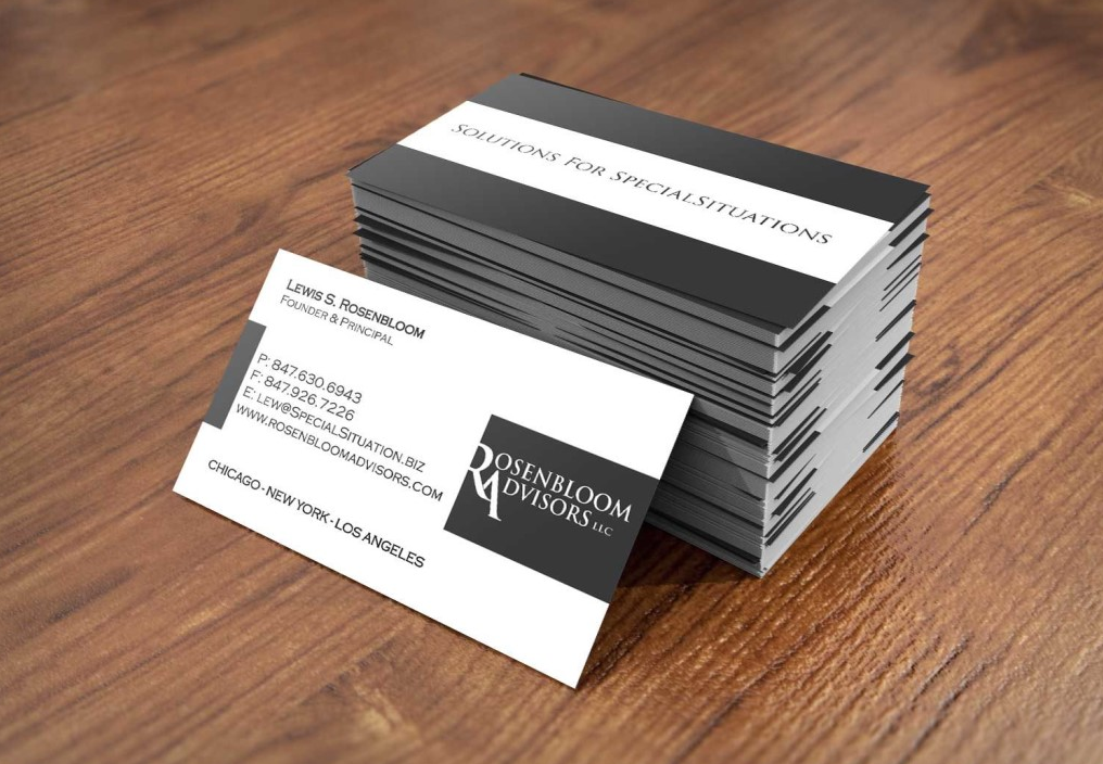 как создать макет визитки самому