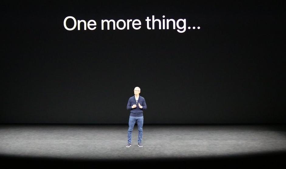 One More Thing 10 ноября