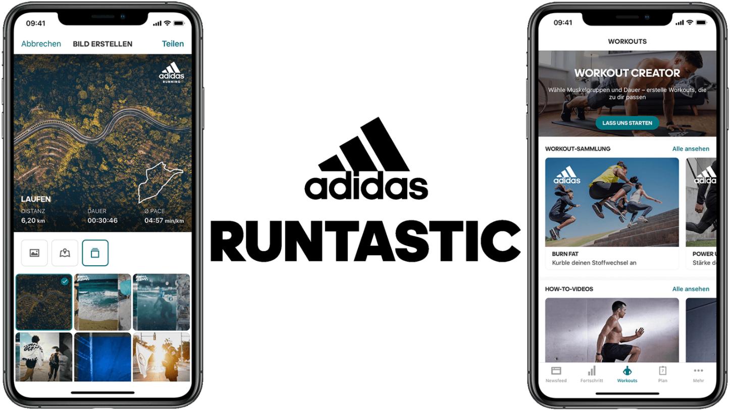Adidas Running App by Runtastic
