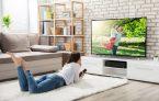 55 телевизор в интерьере