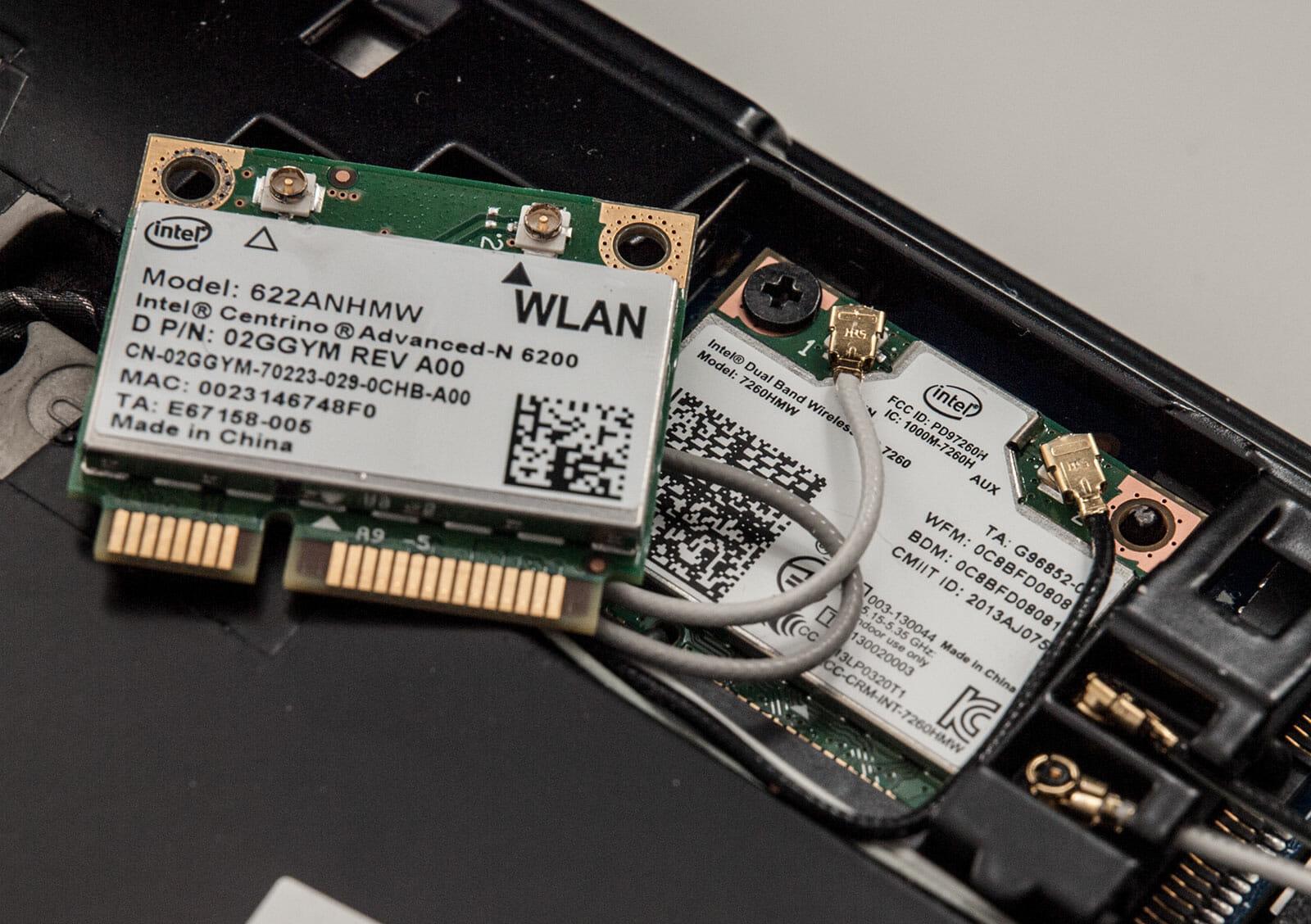 Wi-Fi-модуль на ноутбуке